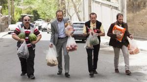 Mohsen Soleimani, Babak Hamidian, Mohammad Sedighi et Ashkan Kheilnedjad