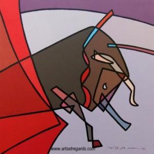 phoca_thumb_l_tableau-ghotbi-ali-9-les-larmes-du-taureau-40x40