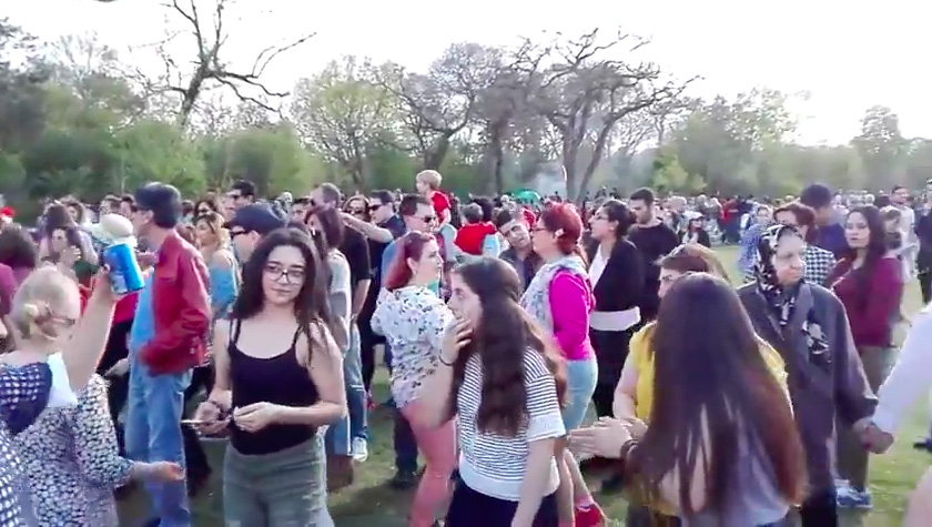 پناهندگی در فرانسه 2017 سیزده به در، نماد اتحاد فرهنگی ایرانیان در فرانسه ...